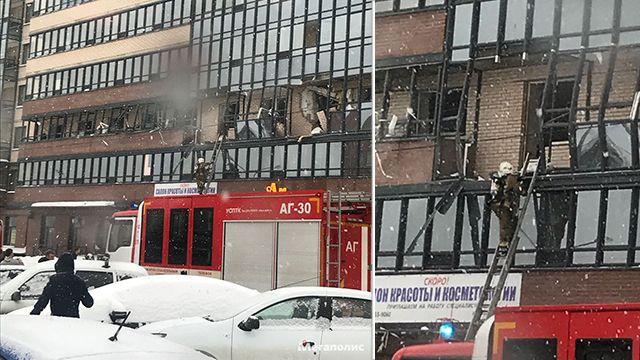 Вирус взрывов газовых баллонов добрался до многоэтажек Петербурга.