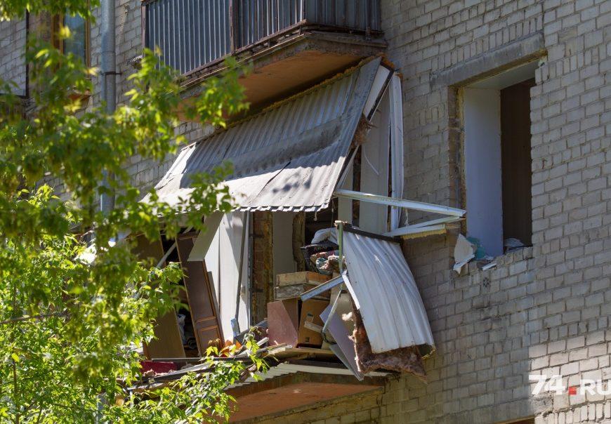 Взрыв газового баллона в многоквартирном доме Челябинска повредил 4 квартиры
