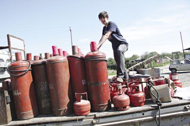 Подвиг Главы поселения. В Челябинской области произошла разгерметизация газового баллона.