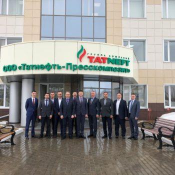 Ведущие предприятия Республики Татарстан заинтересовались предложениями ООО «Газовый вектор».