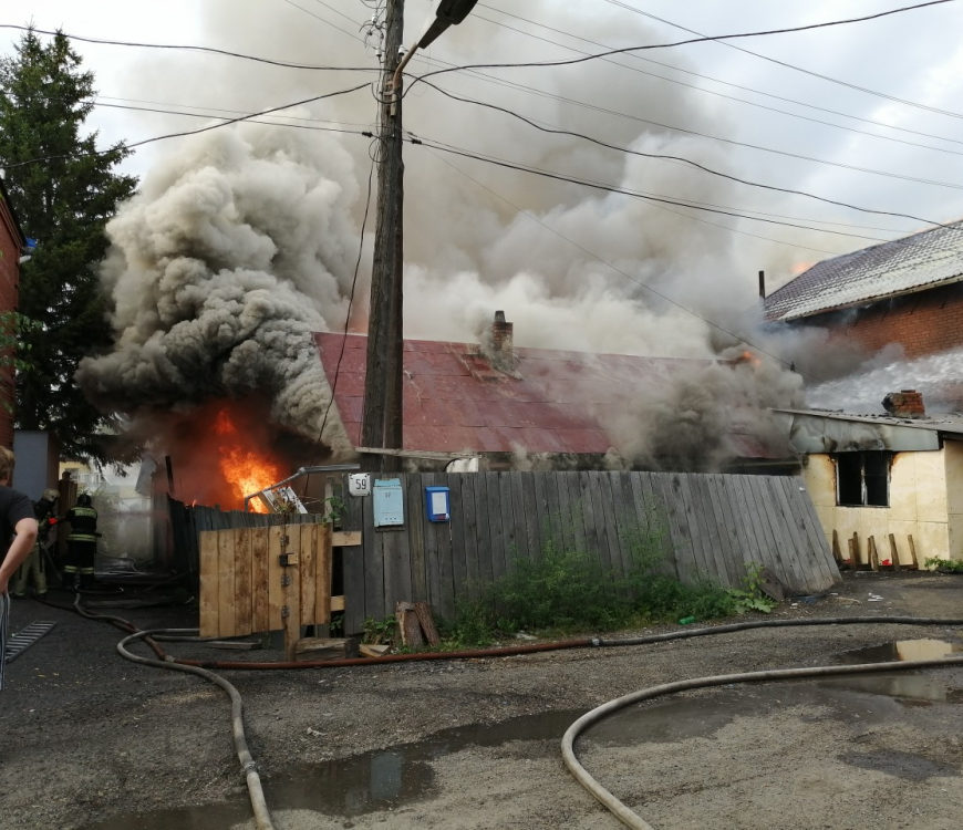 Взрыв газовых баллонов в Томске стал в России 200 -м с начала года
